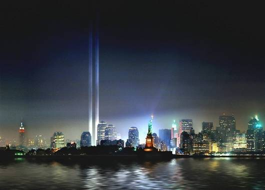 911 Memorial Lights.bmp